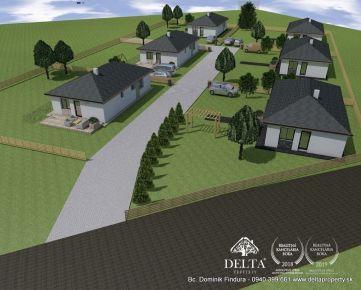 DELTA - Novostavby rodinných domov na kľúč na predaj Čenčice