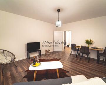REZERVOVANÉ Realitnyprofik.sk ponúka na predaj novozrekonštrukovaný 3-izbový byt s loggiou v Devínskej Novej Vsi