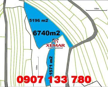 Predaj- pozemok- 6740 m2- Stará Huta, okr. Detva
