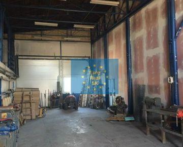 Prenájom skladu Juž. trieda, skladové priestory, výmera 159 m2 + 57 m2