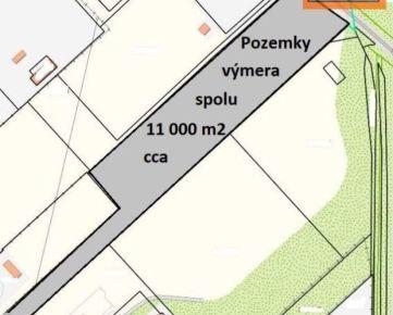 Prenájom, stavebné pozemky na priemyselné využitie, rôzne výmery až do 11 000 m2, Trnava, Trstínska ulica.