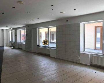 Lukratívny obchodný priestor na Halenárskej 140m2 + poschodie