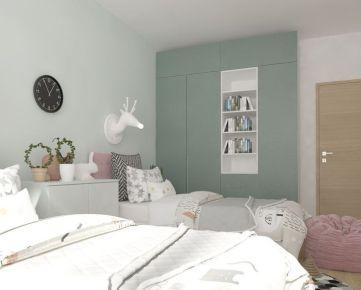 3i byt s dvoma balkónmi Zelené Vlčince  /D.309