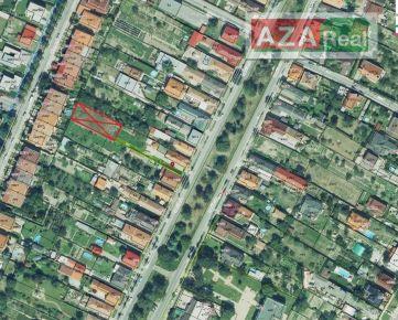 Predaj stavebného pozemku v Čuňove- Hraničiarska ulica