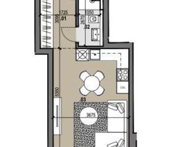 1i byt v novostavbe Zelené Vlčince /D.207
