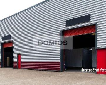 DOMIOS   predaj výrobno-skladového komplexu (14.300 m2, poz. 18.600 m2, naklad. rampy, parking)