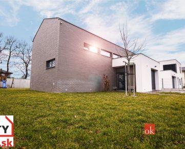 Štýlový veľký 6-izbový rodinný dom - novostavba