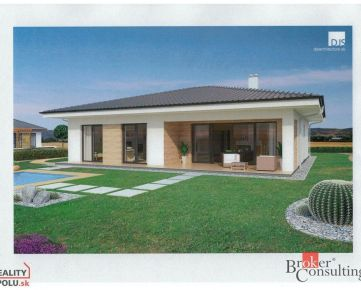 REZERVOVANÉ: Nový 4-izbový bungalow na pozemku 601 m2