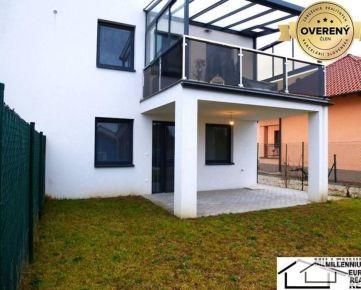 Predaj 4 izbový byt so záhradkou, NOVOSTAVBA, Bernolákovo, Trnavská ulica (dvojbytovka)