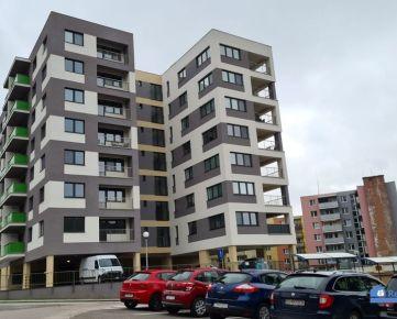 NA PRENÁJOM - nový, slnečný 2 – izbový byt na sídlisku Juh v Trenčíne v novostavbe bytového domu Geminim na Saratovskej ulici