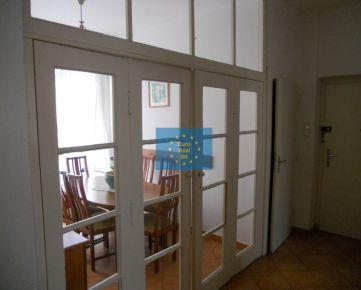 Ponúkame na prenájom pekný 4 izbový byt s halou Košice-Staré mesto, kompletne zariadený, 5 minút do centra, prenájom možný aj s garážou