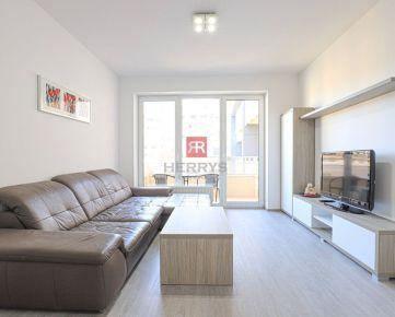 HERRYS - Na prenájom úplne nový 2 izbový byt s garážovým státím