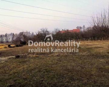 PREDAJ POZEMOK - Bošany časť Baštín, rozloha 1 249 m², okr.Partizánske