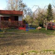 Záhradná chata 32m2, pôvodný stav