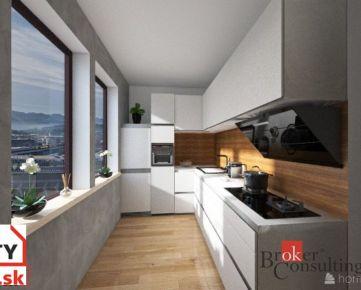 REZERVOVANÝ - slnečný 3 izbový byt