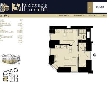 REZIDENCIA HORNÁ 37 - Apartmán 1