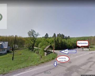 Pozemok na výstavbu chaty Prešov