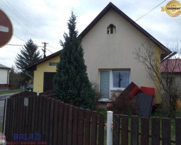 BENICE predaj 2-izbový rodinný dom v obci Benice 9 km od Martina
