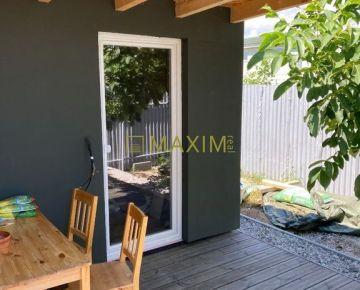 Ponúkame na predaj záhradu - 800 m2 so záhradným domom v Podunajských Biskupiciach