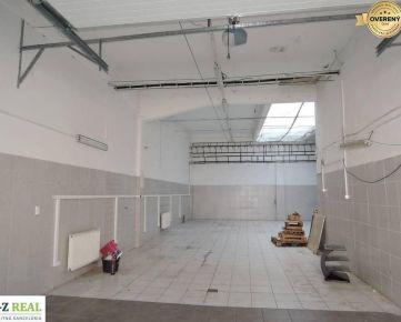 Prenájom skladových priestorov v Petržalke 150 m2 a 220 m2
