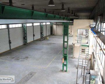 Výrobná/servisná hala 885 m2 v priemyselnom areály na Zvolenskej ceste