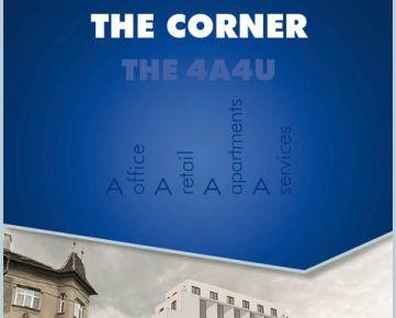 """""""THE CORNER"""" - administratíva na prenájom  (novostavba)"""