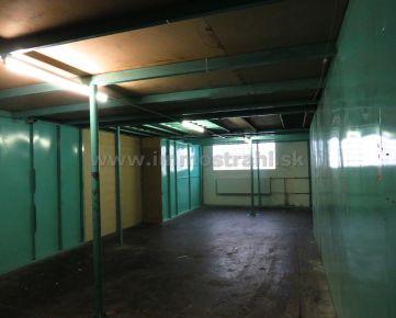 Skladový priestor 200 m2 na prenájom na Ul. Stará Vajnorská