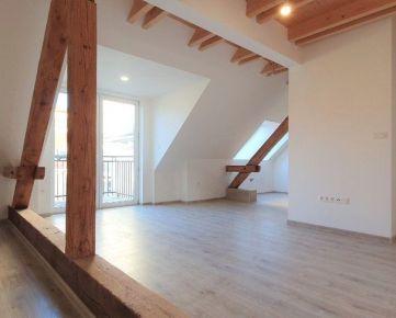 PNORF – novostavba podkrovného 4i bytu, 103 m2, balkón, výťah, Nitra – Staré Mesto