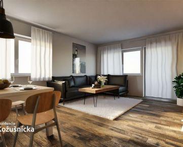 NA PREDAJ | 3 izbový byt 79m2 + veľký balkón, 1np.  - Rezidencia Kožušnícka, byt B7