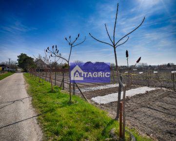 3227 Na predaj pozemok vhodný na výstavbu rodinného domu v Moči 990 m2