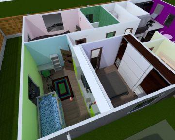 4 Izbový nízko-energetický rodinný dom