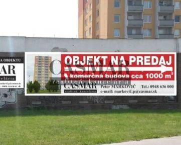 Predaj, Komerčný objekt, Trnava, Koniarekova, 990m2, poz. 1150m2