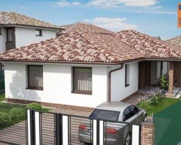 Novostavba! 4 izbový rodinný dom, pozemok 450m2, Dunajská Streda. CENA: 142 000,00 EUR