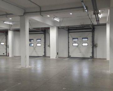 Prenájom skladu Bratislava Rača 1000 m2 + kancelária / Warehouse-1000 sqm for rent,Bratislava+office