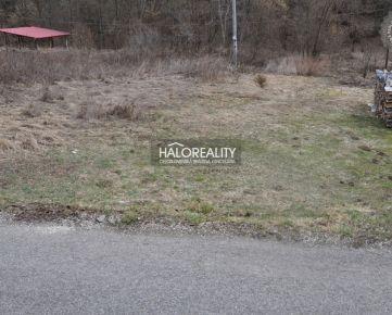 HALO REALITY - Predaj, pozemok pre rodinný dom 1124 m2 Margecany - EXKLUZÍVNE HALO REALITY