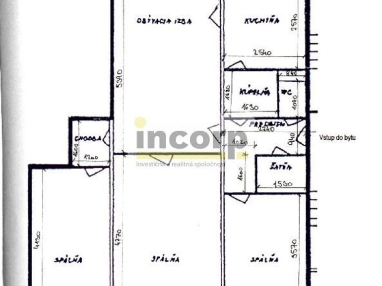 4-izb. byt 82m2, kompletná rekonštrukcia