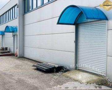 PREDAJ - Podnik. areál, Nitra - Čermáň,  sklady + kancelárie