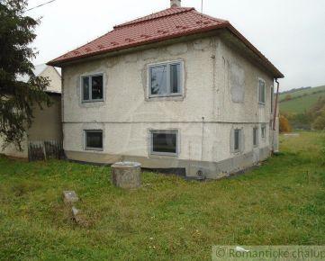 Výrazne znížená cena!!  Hrubá stavba rodinného domu v obci Košarovce