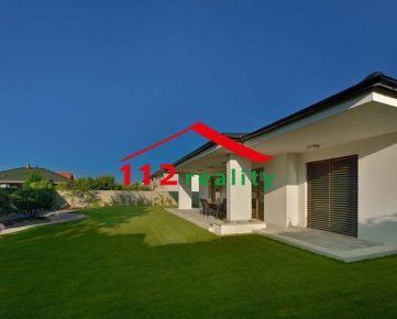 112reality - Na prenájom novostavba 4 izbový rodinný dom, bungalov, s terasou, Dunajská Lužná, voľný od 1.5.2021