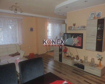 KONEX REALITY – SKVELÉ BÝVANIE! Rekonštruovaný 3-izbový byt v tichej lokalite Sečoviec.