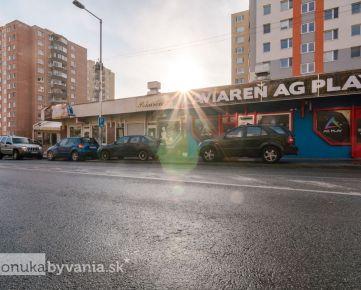 EISNEROVA - samostatný obchodný priestor, 40 m2, PARKOVANIE, INVESTIČNÁ príležitosť 650 EUR + energie