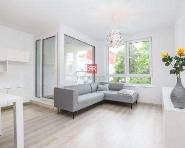 HERRYS - Na prenájom úplne nový 2 izbový byt s garážovým státím a veľkou pivnicou v novostavbe Sofora v Ružinove