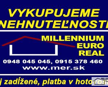 RK MER - SÚRNE kúpime 2izbový byt v Bratislave III – Nové Mesto Mesto, Stav a lokalita nerozhoduje, môže byť aj zadĺžený. Cena: DOHODOU – ponúknite, www.mer.sk