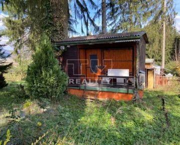 Na predaj záhradná chatka Mojšová Lúčka-Lúčky 1 na pozemku o výmere 350m2