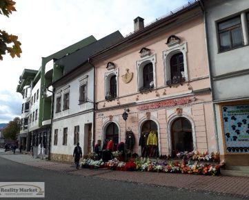 PRENÁJOM - Meštiansky dom v centre mesta