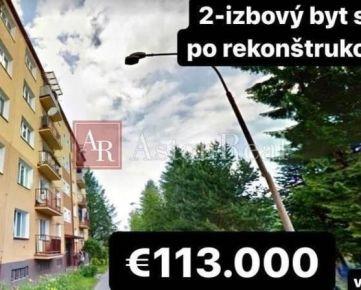 PREDAJ: 2-izbový byt s balkónom po rekonštrukcii, 59m2, Hliny VII, ZA