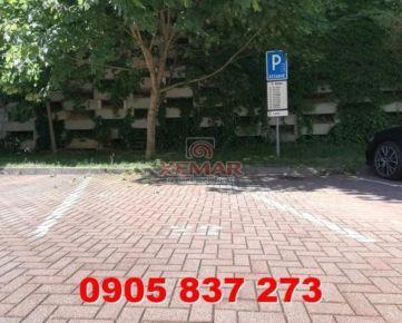Na prenájom vonkajšie parkovacie miesto v Banskej Bystrici, mestská časť Belveder