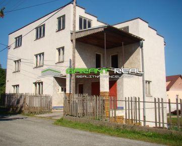 GARANT REAL - predaj komerčný objekt / rodinný dom, OV, 511 m2, Fričkovce, okr. Bardejov