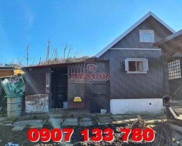 Predaj- záhradná chatka, pozemok 404 m2- záhr.osada- Detva