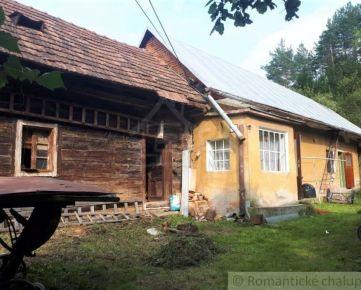 Drevenica s rodinným domom v obci Bodiná na predaj